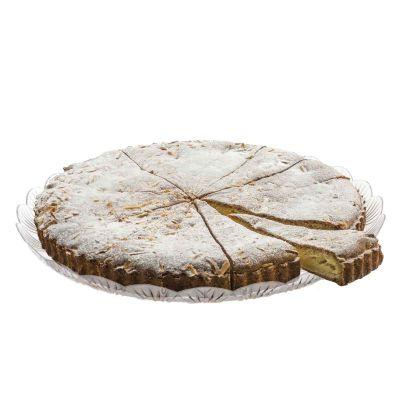 Vassoio da pasticceria Stella Ø33 cm con dolce fatto in casa