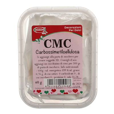 CMC carbossimetilcellulosa in polvere 40 g Graziano