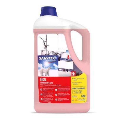 Dekal detergente disincrostante acido Sanitec tutte le durezze dell'acqua 5 L