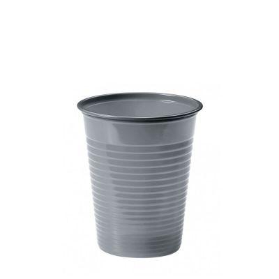 Bicchieri di plastica colorati monouso DOpla Colors argento