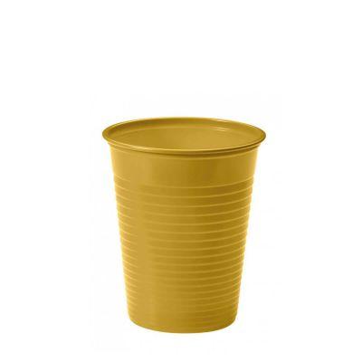 Bicchieri di plastica colorati monouso DOpla Colors oro