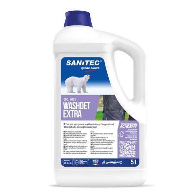 Washdet Extra detergente sgrassante per lavatrice Sanitec 5 L
