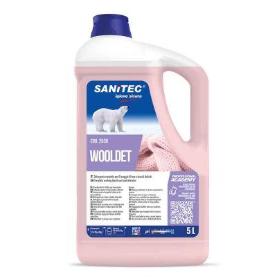 Wooldet detergente completo lana e delicati per lavatrice Sanitec 5 L