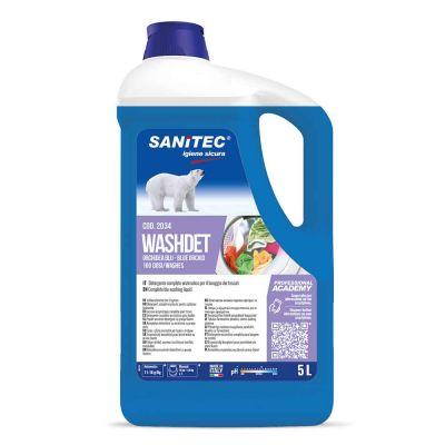 Washdet Orchidea Blu detergente enzimatico per lavatrice Sanitec 5 L