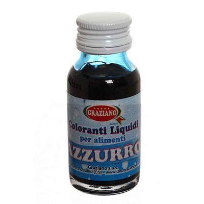 Colorante liquido concentrato per alimenti azzurro 35 g