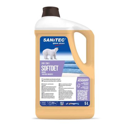 Softdet Argan ammorbidente profumato per lavatrice Sanitec 5 L