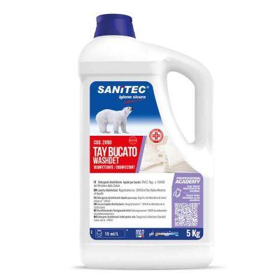 Tay Bucato Washdet detergente disinfettante per lavatrice Sanitec 5 l