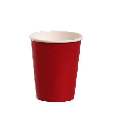 Bicchieri di cartoncino rosso Dopla Party 240ml