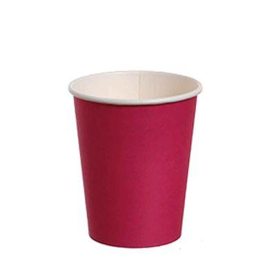 10 Bicchieri di carta fucsia DOpla Party 240ml