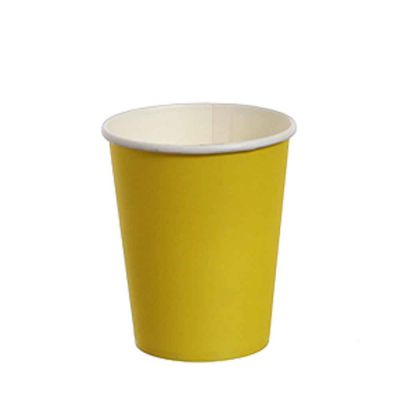 Bicchieri di cartoncino giallo DOpla Party 240ml