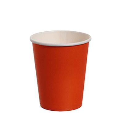 Bicchieri di cartoncino arancio DOpla Party 240ml