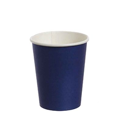10 Bicchieri di carta blu DOpla Party 240ml