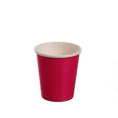 25 Bicchierini da caffè in carta fucsia 80ml