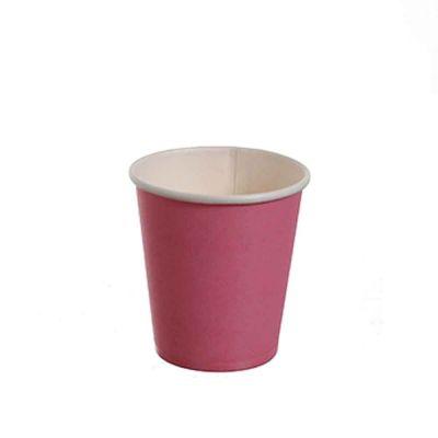 25 Bicchierini da caffè in carta rosa 80ml
