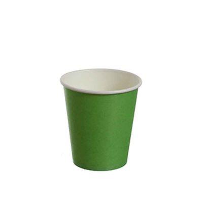 25 Bicchierini da caffè in carta verdi 80ml