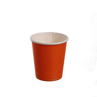 25 Bicchierini da caffè in carta arancioni 80ml
