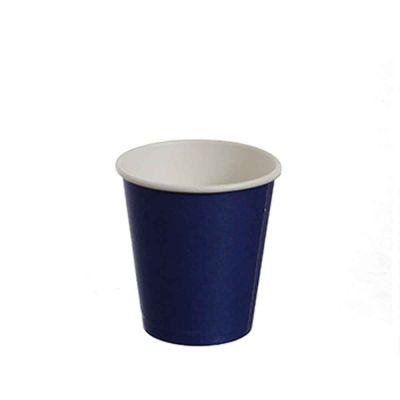 25 Bicchierini da caffè in carta blu 80ml