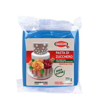 Pasta di zucchero blu 250 g