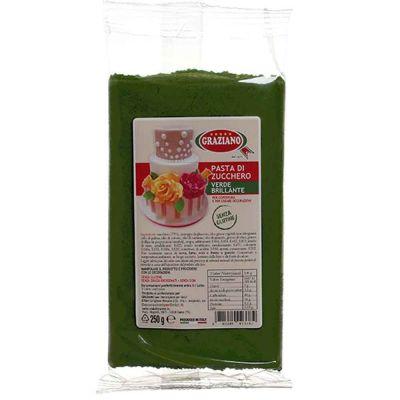 Pasta di zucchero verde 250 g