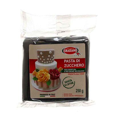 Pasta di zucchero nero 250 g