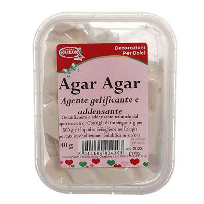 Agar Agar vegetale in polvere 40 g