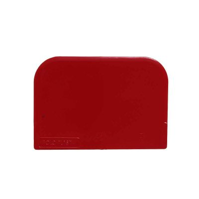 1 Raschietto in plastica taglia impasto rosso 251