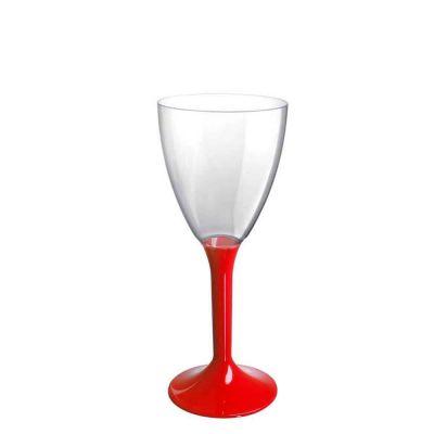 20 Calici vino lavabili rossi 180cc