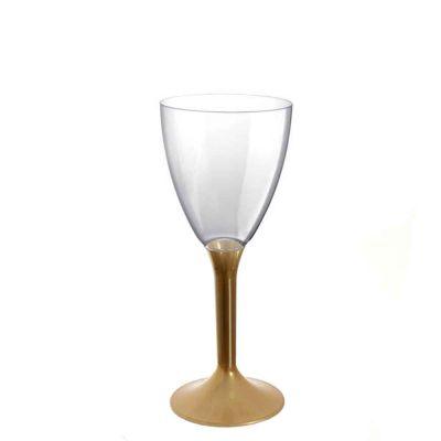 20 Calici vino lavabili oro 180cc