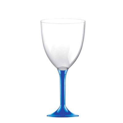 20 Calici vino lavabili blu 300cc