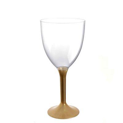 20 Calici vino lavabili oro 300cc