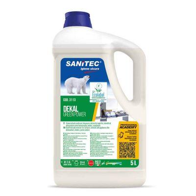 Dekal Green Power detergente alcalino Sanitec per tutte le durezze dell'acqua 5 L
