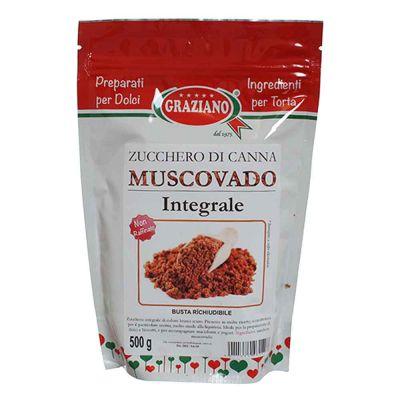 Zucchero di Canna Muscovado integrale per dolci 500 g