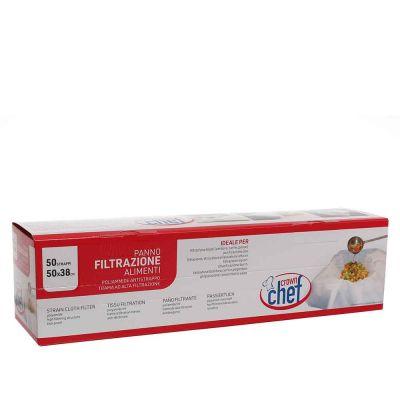 Panni tessuto filtrante per alimenti e liquidi 50x38 cm poliammide