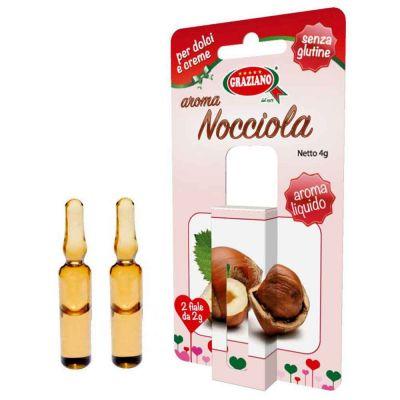 Aroma liquido per dolci gusto Nocciola 4g 2 fialette