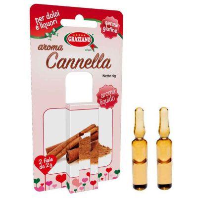 Aroma liquido per dolci gusto Cannella 4g 2 fialette