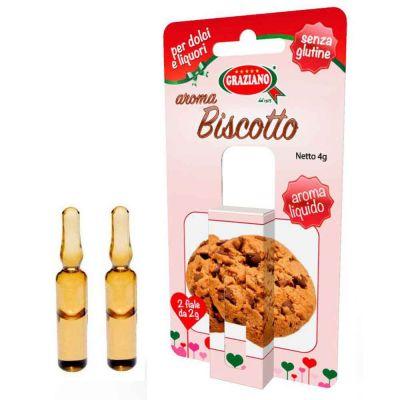 Aroma liquido per dolci gusto Biscotto 4g 2 fialette