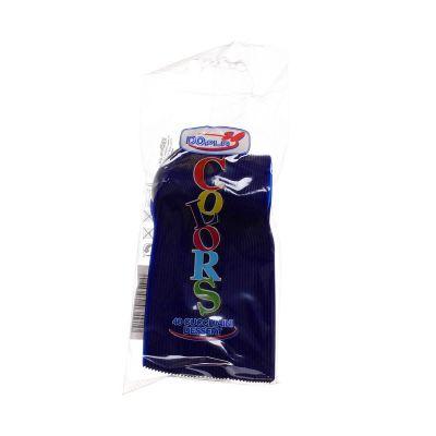 Cucchiaini di plastica colorati da dessert DOpla Colors blu