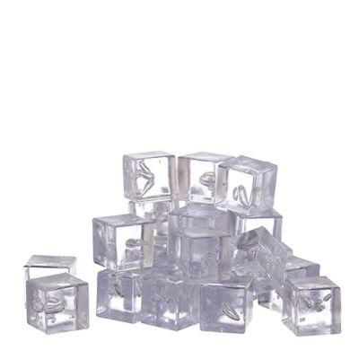 Cubetti di ghiaccio finto sintetico