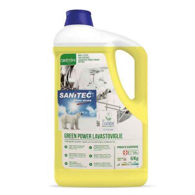 Stovil Green Power detergente ecologico Sanitec tutte le durezze dell'acqua 5 L