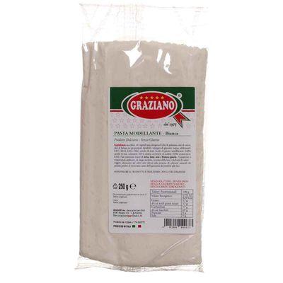 Pasta di zucchero bianca per modellare e copertura 250 g