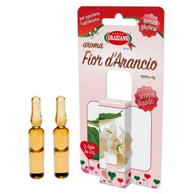 Aroma liquido per dolci gusto Fiori d'Arancio 4g 2 fialette