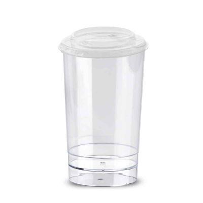 Bicchierini rotondi con coperchio Tubito 150ml in offerta