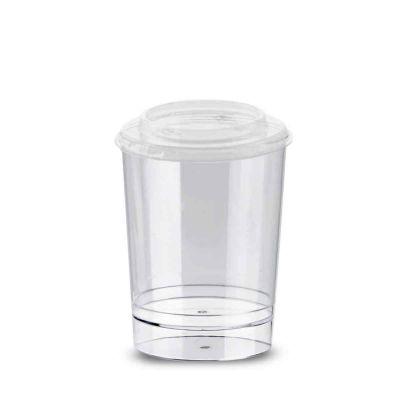Bicchierini rotondi con coperchio Tubito 120ml in offerta