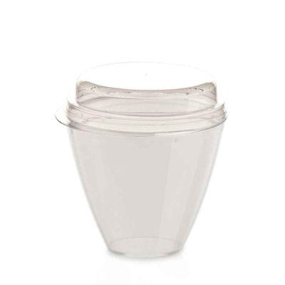 Bicchierini bianchi Apollo con coperchio