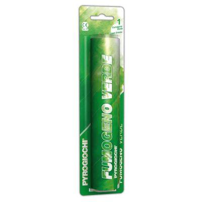Fumogeno colorato verde
