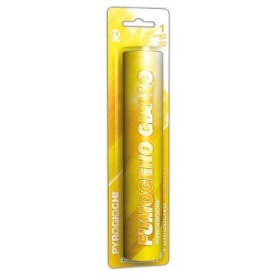 Fumogeno colorato giallo