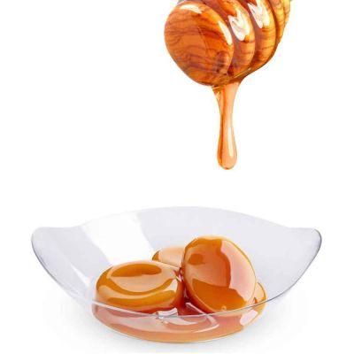 Monoporzioni con colata miele