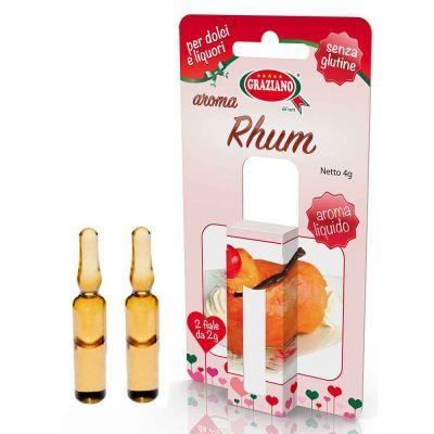 Aroma liquido per dolci gusto Rum 4g 2 fialette