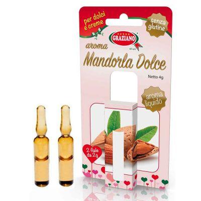 Aroma liquido per dolci gusto Mandorla Dolce 4g 2 fialette