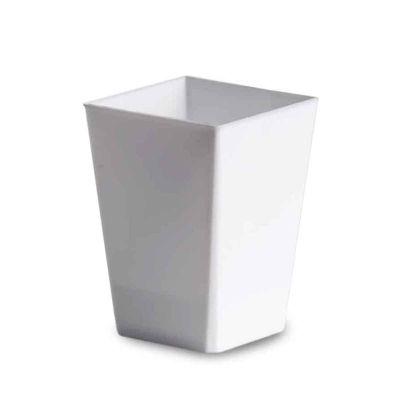 Bicchierini finger food monoporzioni Kubic 120ml bianco